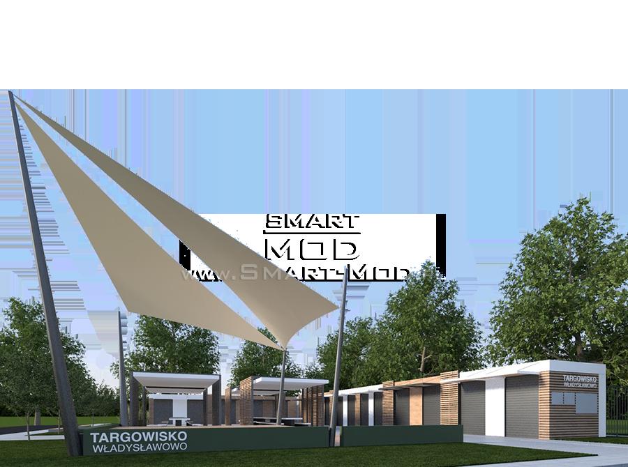budynki modułowe targowisko