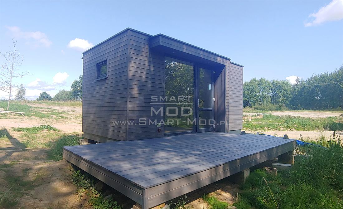 domek letniskowy drewniany modułowy