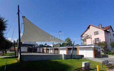 Targowisko modułowe we Władysławowie