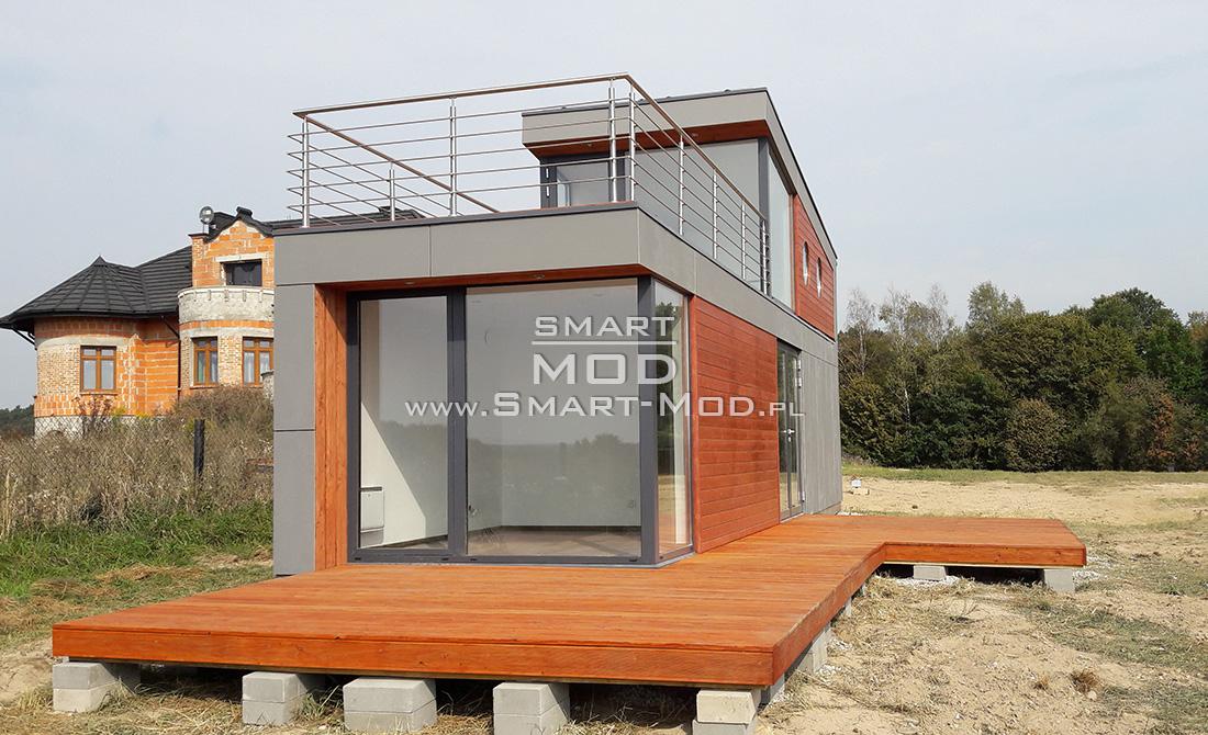 piętrowe domki letniskowe modułowe