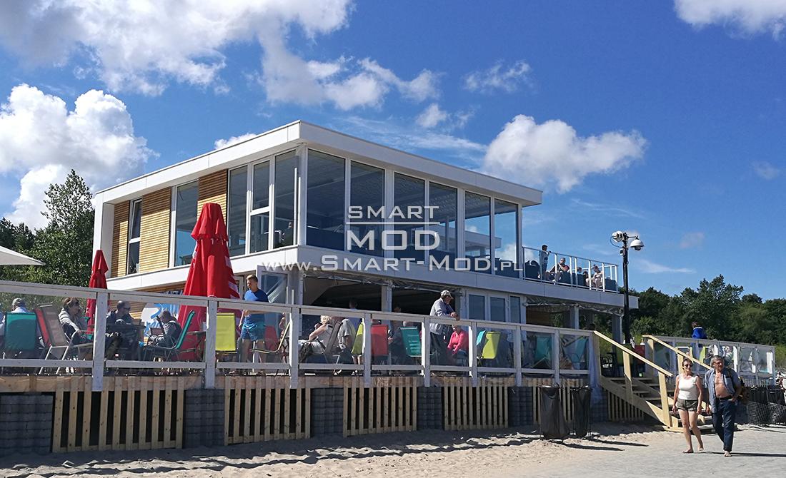 bar sezonowy na plaży