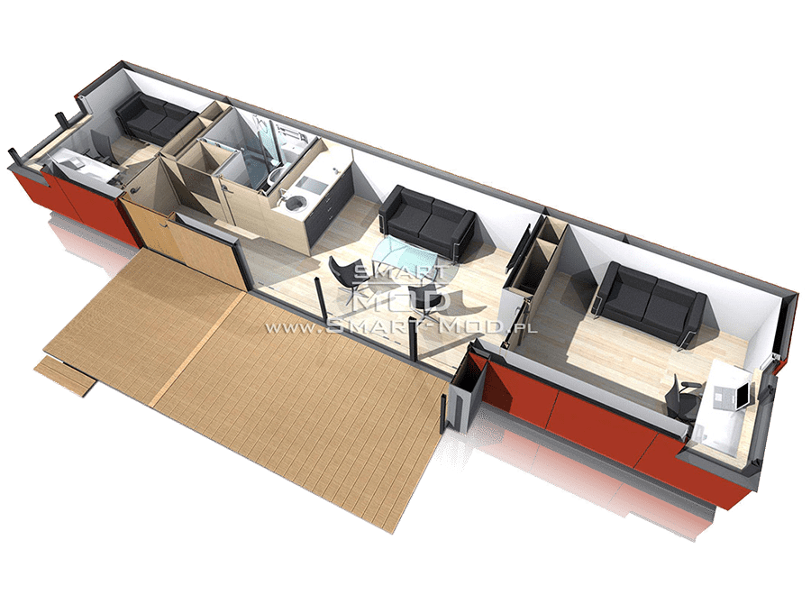 plan domki letniskowe