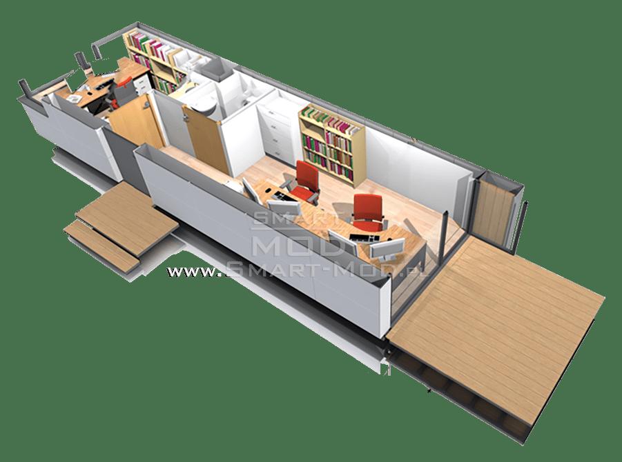 biuro modułowe ogrodowe