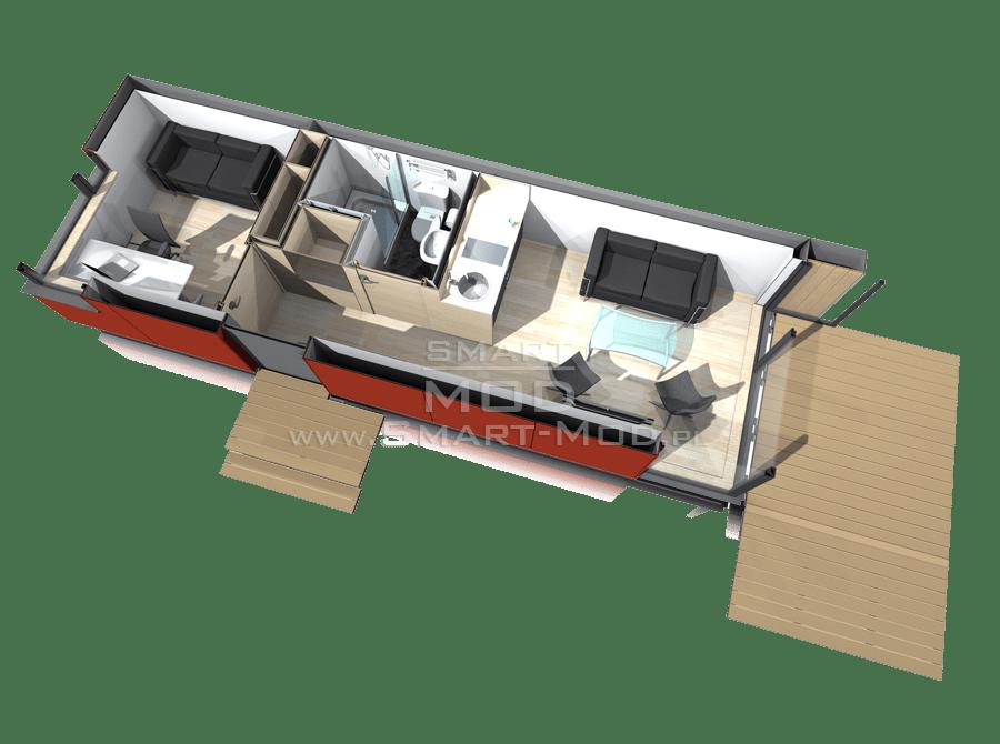 domki letniskowe plan domku