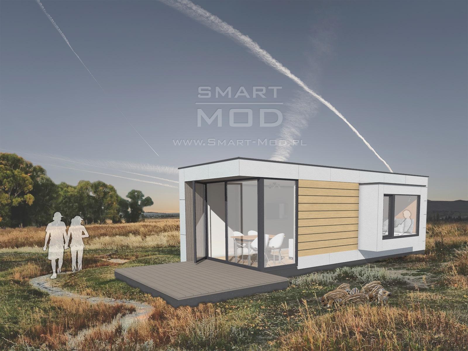 domy modułowe letniskowe sleepbox