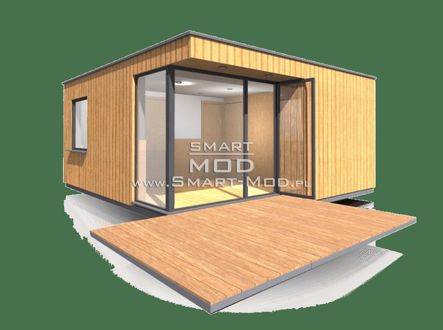 modułowy domek kempingowy