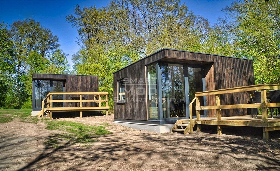domek kempingowy domki holenderskie drewniane modułowy bez pozwolenia na budowę