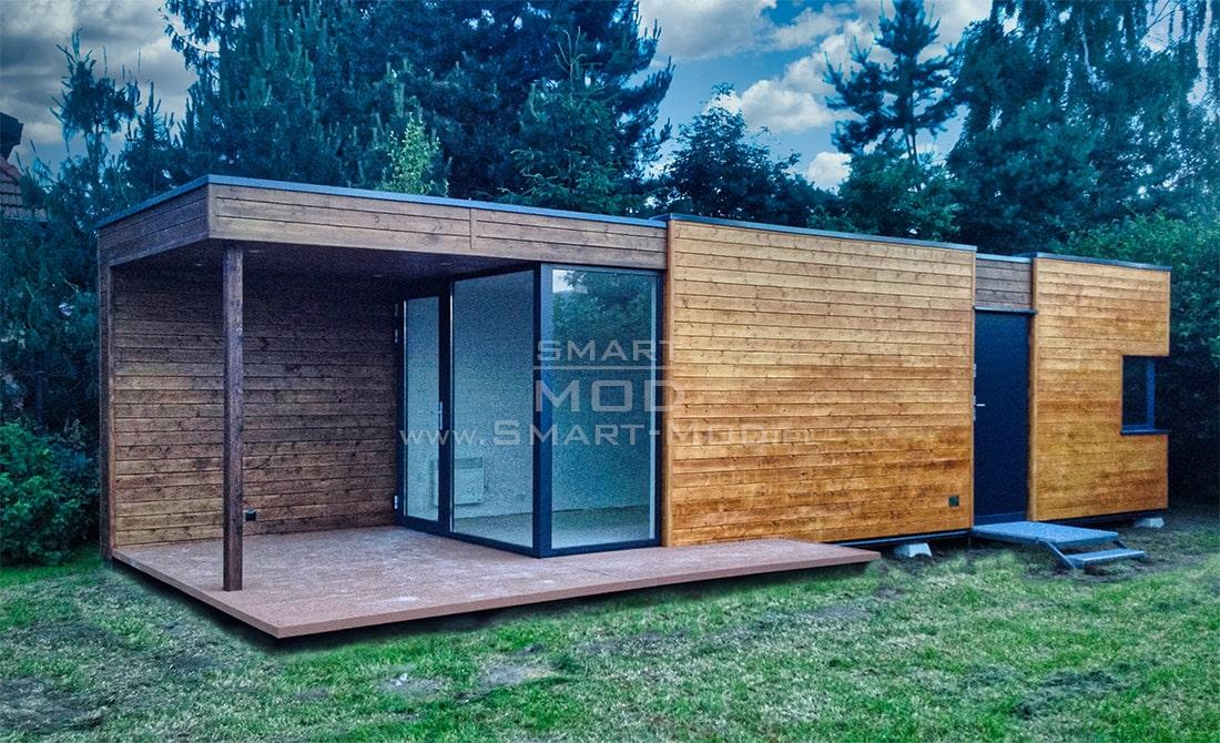 domki letniskowe modułowe drewniane