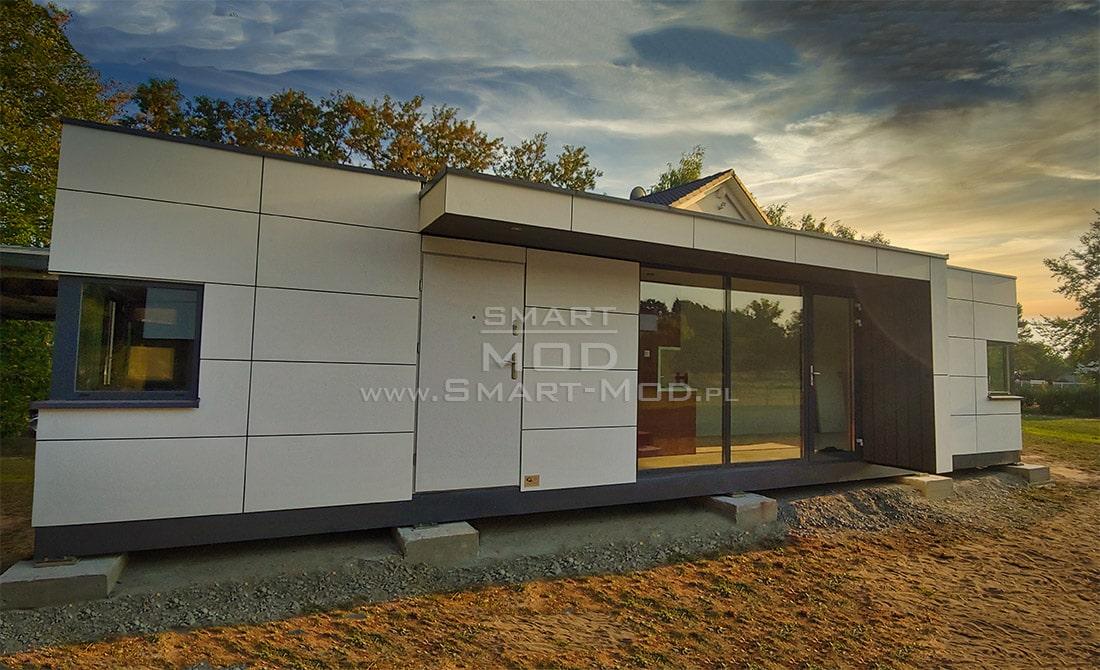 nowoczesne domy modułowe letniskowe