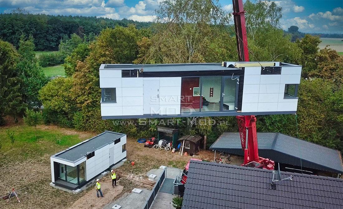 domy modułowe montaż domków letniskowych