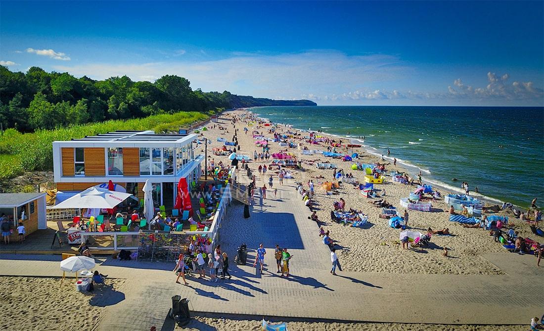 bar modulowy na plazy smart-mod obiekt sezonowy