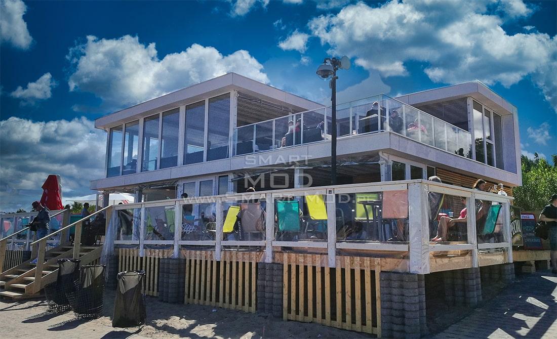 bar na plazy modulowy budynek nie kontenerowy