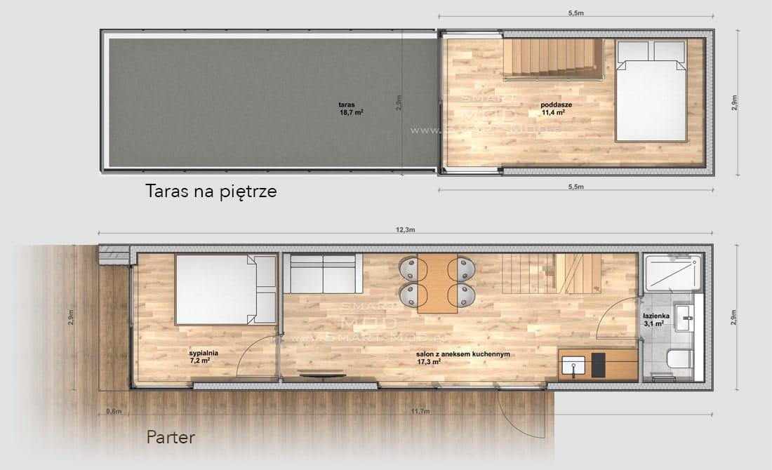 plan domu bez pozwolenia