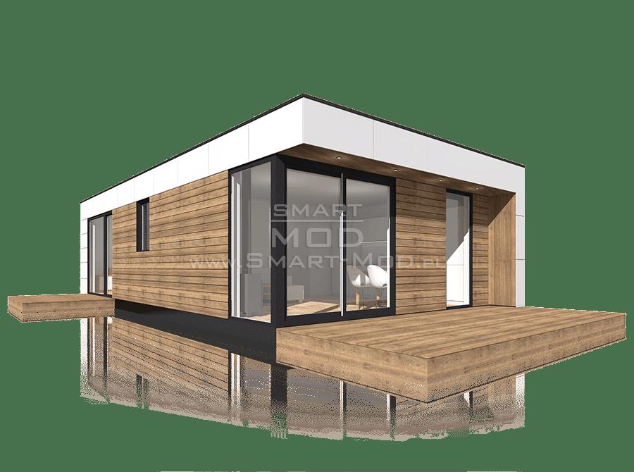 dom modułowy całoroczny z 2 sypialniami